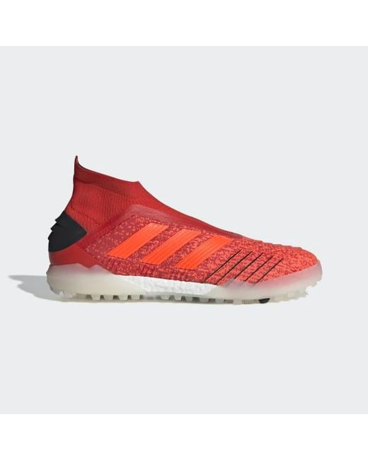 57b3bf4314b adidas Predator Tango 19+ Turf Shoes in Red - Lyst