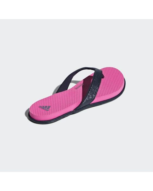 09a340a1a ... Adidas - Blue Cloudfoam One Thong Sandals for Men - Lyst ...