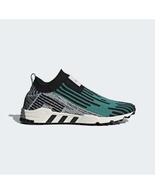 official photos e2098 d54b4 Adidas - Black Eqt Support Sk Primeknit Shoes for Men - Lyst ...