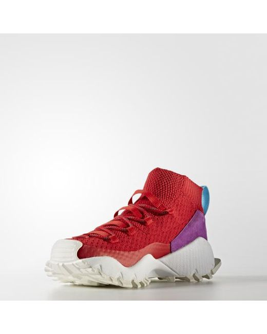 b1a5987ca97a ... Adidas - Red Seeulater Primeknit Winter Shoes for Men - Lyst ...