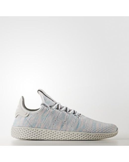 0a939a8c5377c Adidas - Blue Pharrell Williams Tennis Hu Shoes for Men - Lyst ...