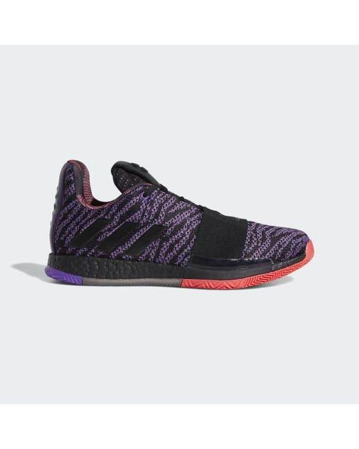 size 40 82b22 698ba Adidas - Purple Harden Vol. 3 Shoes for Men - Lyst ...
