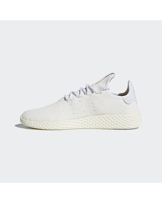 82bb7a3d5c0bf ... Adidas - White Pharrell Williams Hu Holi Tennis Hu Bc Shoes for Men -  Lyst ...
