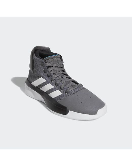 new styles 8586b e7a79 ... Adidas - Gray Pro Adversary 2019 Shoes for Men - Lyst ...