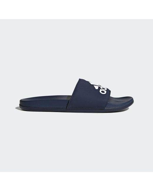 48ac9b47d Lyst - adidas Adilette Cf+ Slide Sandal in Blue for Men - Save 37%