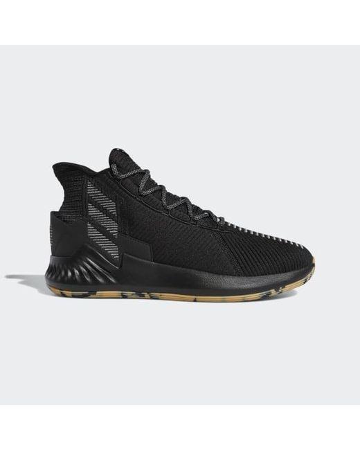 847d465ca4af Adidas - Black D Rose 9 Shoes for Men - Lyst ...