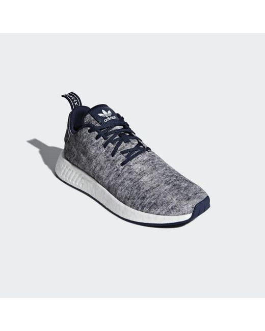 d64bba949 ... Lyst Adidas - Gray Ua sons Nmd R2 Shoes for Men ...
