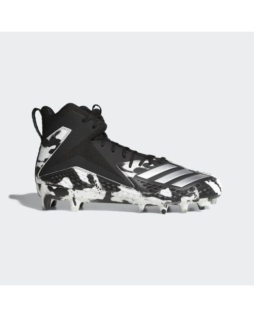 98586e2a1 Adidas - Black Freak X Carbon Mid Camo Cleats for Men - Lyst ...