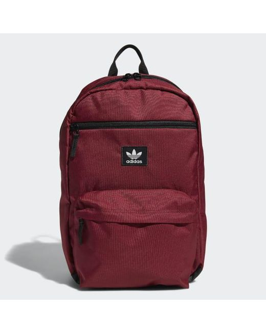 f2873b734 Adidas - Red National Backpack for Men - Lyst ...