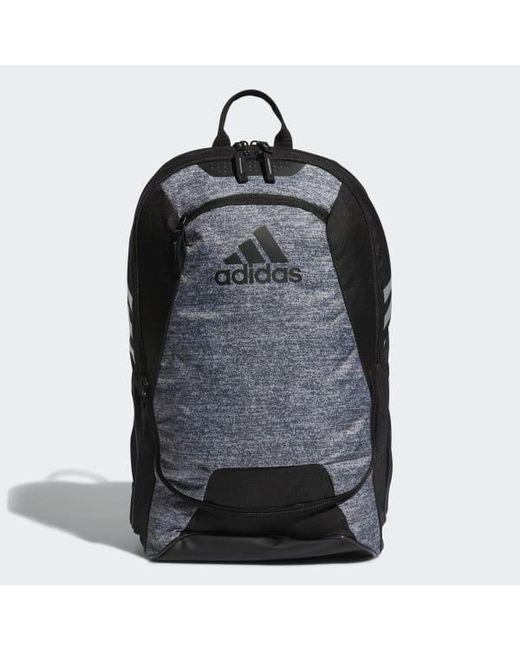 79cc89841f Adidas - Gray Stadium 2 Backpack for Men - Lyst ...