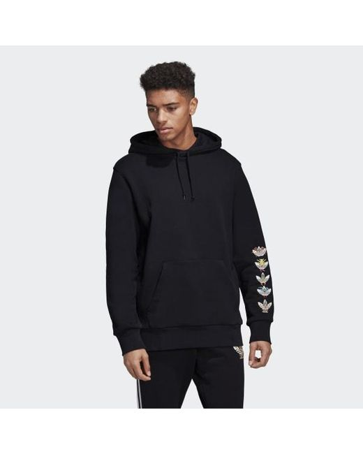 buy popular e4155 bc290 Adidas - Black Tanaami Hero Hoodie for Men - Lyst ...