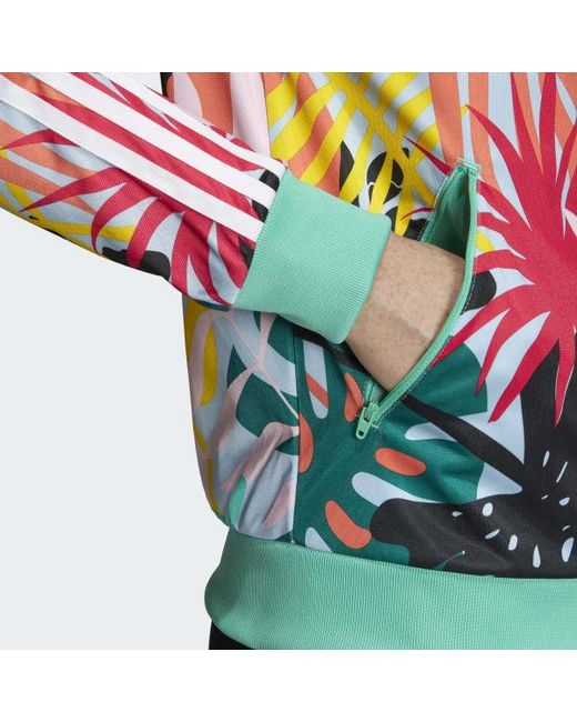 a0799feaa77 ... Adidas - Multicolor Tropicalage Sst Graphic Track Jacket - Lyst ...