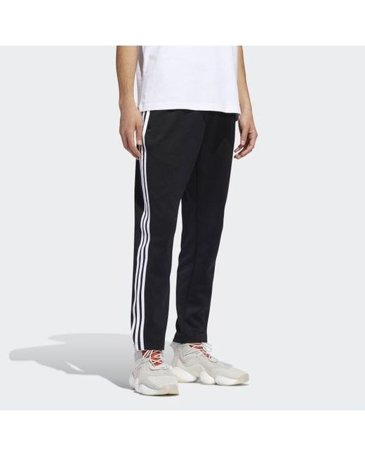 Men's Black 3-stripes Pants