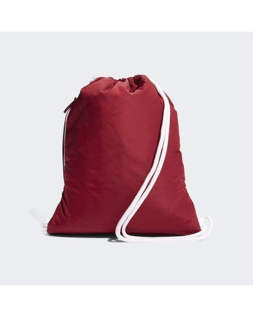 uk availability e2542 70d3c Adidas - Red Originals Trefoil Sackpack for Men - Lyst .