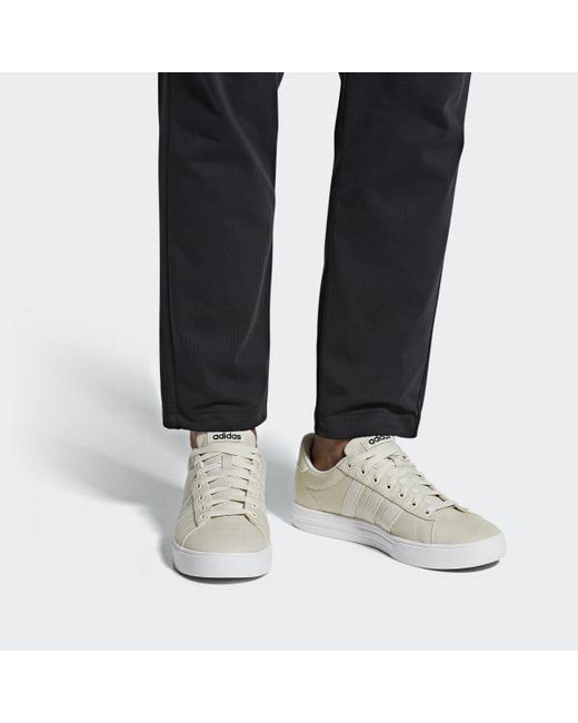 new style 99a99 ef355 ... Adidas - White Daily 2.0 Shoes for Men - Lyst ...