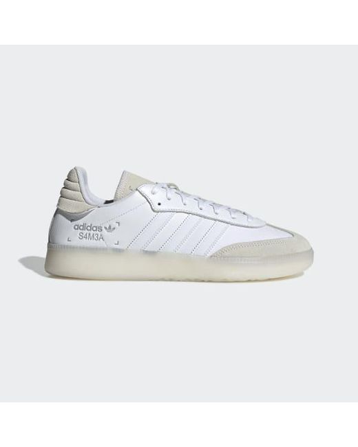 2d794205292 Adidas - White Samba Rm Shoes - Lyst ...
