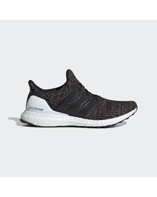 reputable site 0e7b3 e02a5 Adidas - Black Ultraboost Shoes for Men - Lyst ...