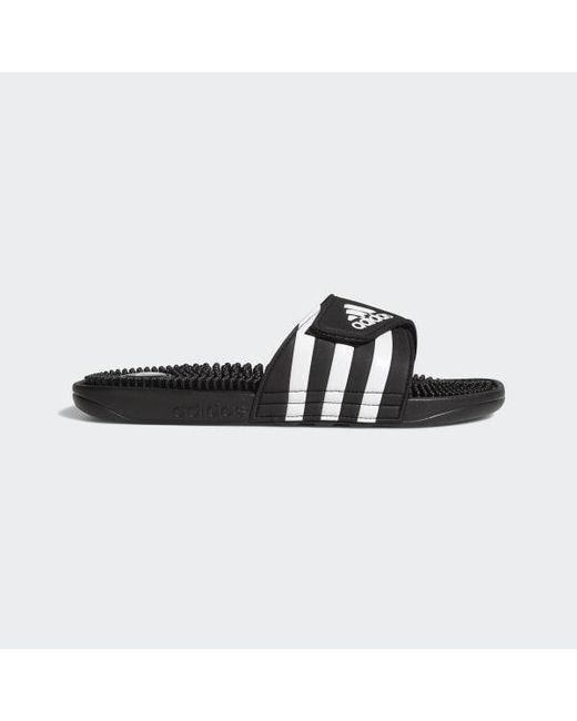 6afc114f1fa5 Adidas - Black Adissage Slides for Men - Lyst ...
