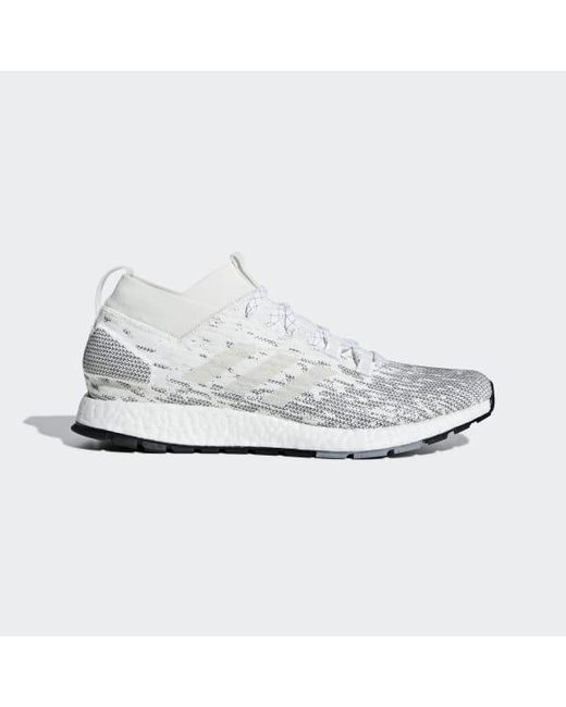 b34f5a6ab Adidas - White Pureboost Rbl Shoes for Men - Lyst ...