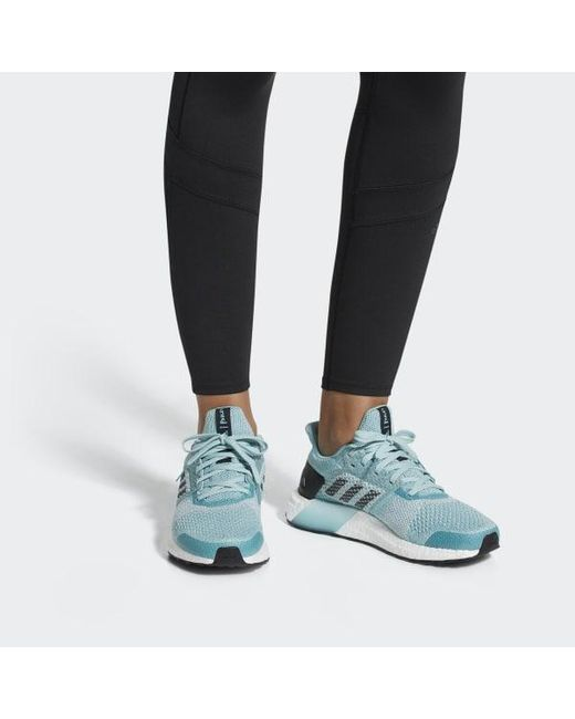 f3a574ace632c ... Adidas - Blue Ultraboost St Parley Shoes - Lyst ...