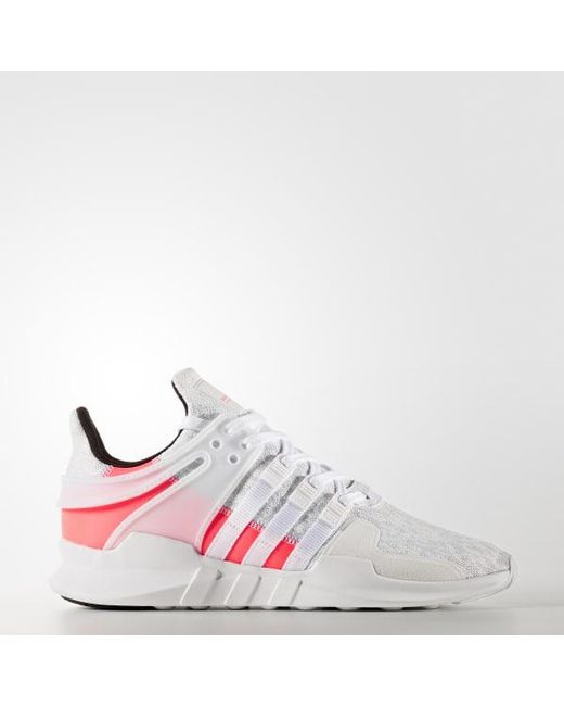 pretty nice b3035 9ba83 Adidas - White Eqt Support Adv Shoes for Men - Lyst ...