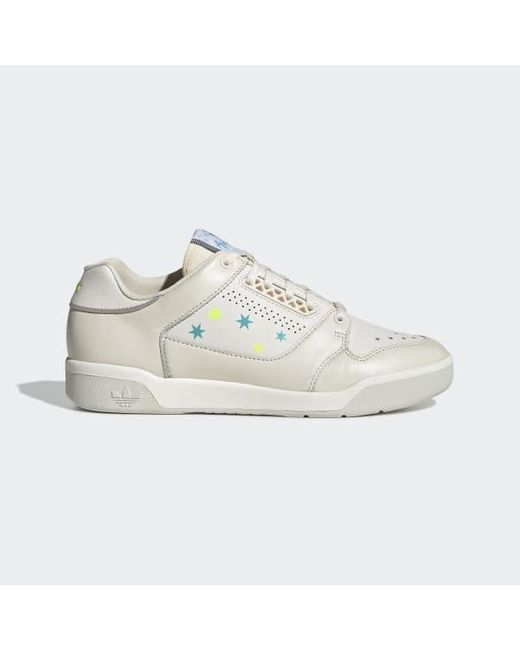 Adidas White Slamcourt Shoes
