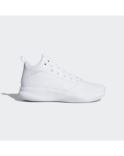 huge selection of ec8e0 9a084 Adidas - White Cloudfoam Ilation 2.0 4e Shoes for Men - Lyst ...