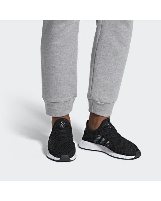 2c30e9d70592a ... Adidas - Black Deerupt Runner Shoes - Lyst ...