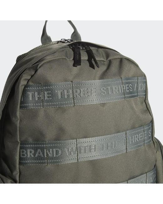 ... Adidas - Green Create 3 Backpack for Men - Lyst ... 6420f27d12d7a