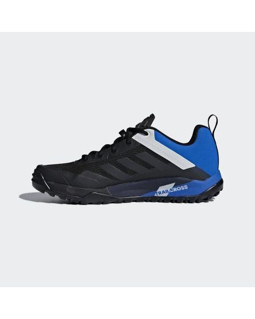 1ab22eec1387 ... Adidas - Black Terrex Trail Cross Sl Shoes for Men - Lyst ...