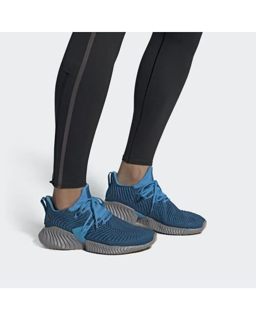 save off a9236 88b1e ... Adidas - Blue Alphabounce Instinct Shoes for Men - Lyst ...