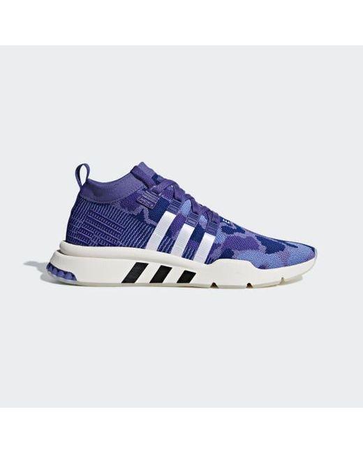 promo code 0e640 2a5cc Adidas - Purple Eqt Support Mid Adv Primeknit Shoes for Men - Lyst ...