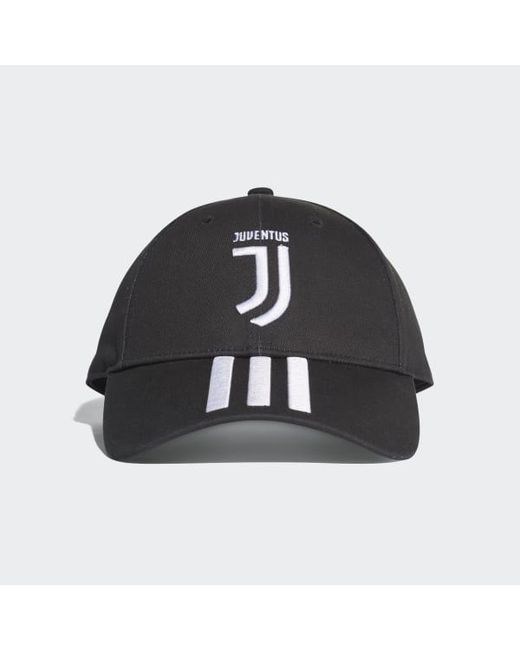 Adidas - Black Juventus 3-stripes Hat - Lyst ... d82598e4c40e