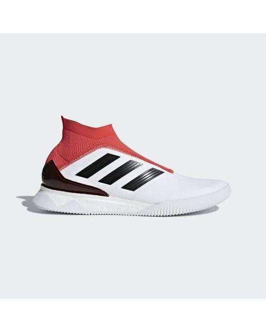 Lyst adidas predator tango 18 + scarpe bianche per gli uomini.