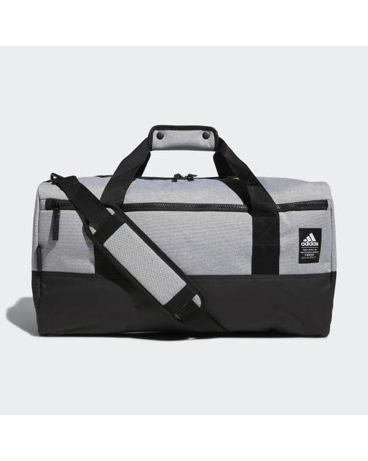 Adidas - Black Amplifier Duffel Bag for Men - Lyst ... bc51a5f7ef