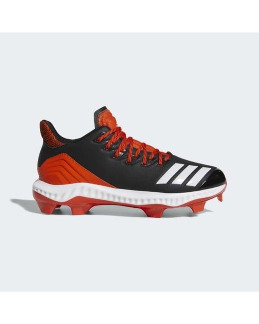 a582d0dd465d8 Adidas - Black Icon Bounce Tpu Cleats for Men - Lyst ...