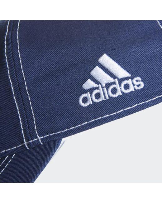 ... Adidas - Blue Lightning Adjustable Slouch Dobby Hat for Men - Lyst ... f36d92ac889f