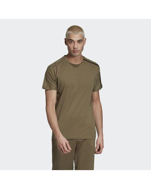 cheap for discount 572bb 956c0 Adidas - Brown Z.n.e. Tee for Men - Lyst ...