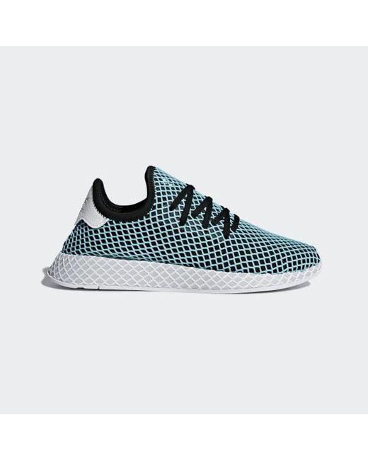 on sale 53226 67458 Adidas - Black Deerupt Runner Parley Shoes - Lyst ...