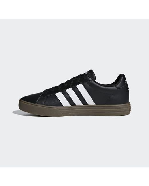 90ddb0c44a3 ... Adidas - Black Daily 2.0 Shoes for Men - Lyst ...