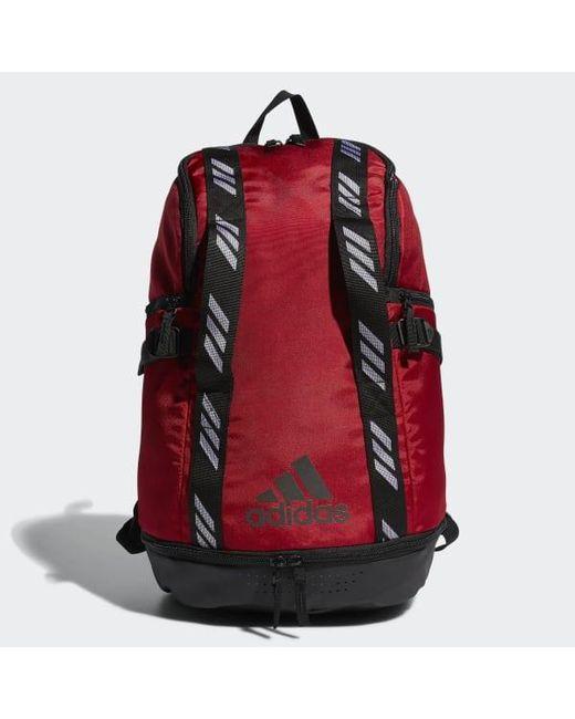 c195b7b2b4 Adidas - Red Creator 365 Backpack for Men - Lyst ...