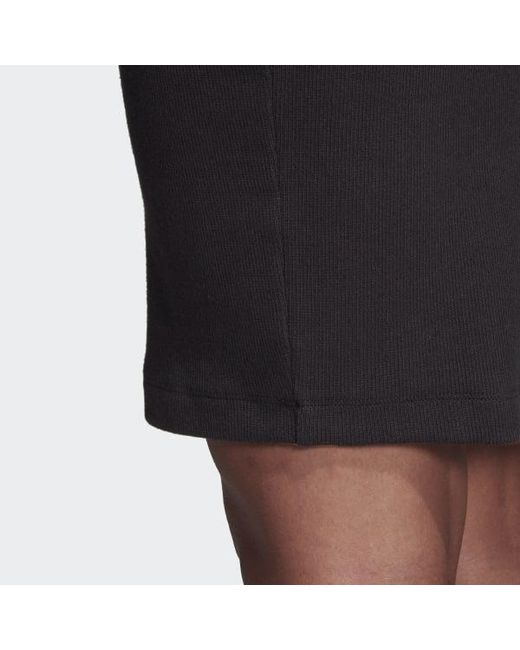 9b6ce2af668d ... Adidas - Black Styling Complements Midi Skirt - Lyst