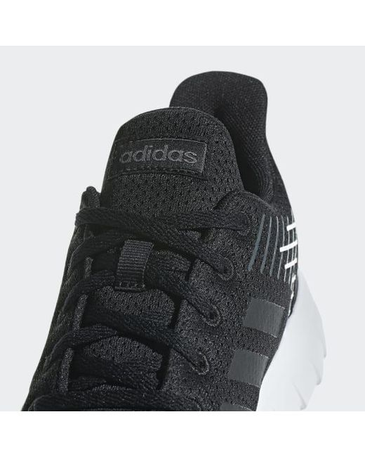sports shoes 23fe1 6956f ... Adidas - Black Asweerun Shoes - Lyst ...