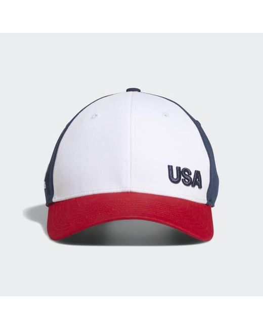 c388a4a8c00 Adidas - Blue Colorblock Crestable Hat for Men - Lyst ...