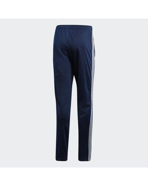 b590aba3a ... Adidas - Blue Essentials 3-stripes Pants for Men - Lyst ...
