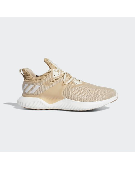 pretty nice 2c97c ab8be Adidas - White Alphabounce Beyond Shoes for Men - Lyst ...