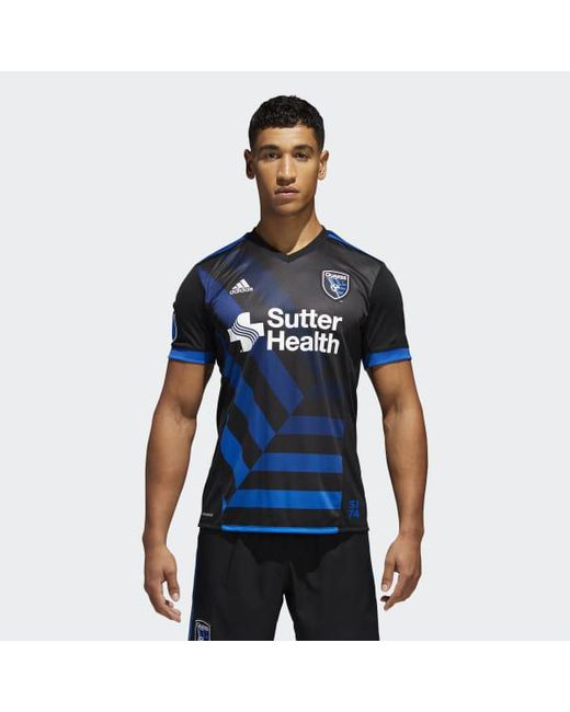 Adidas - Black Earthquakes Home Jersey for Men - Lyst