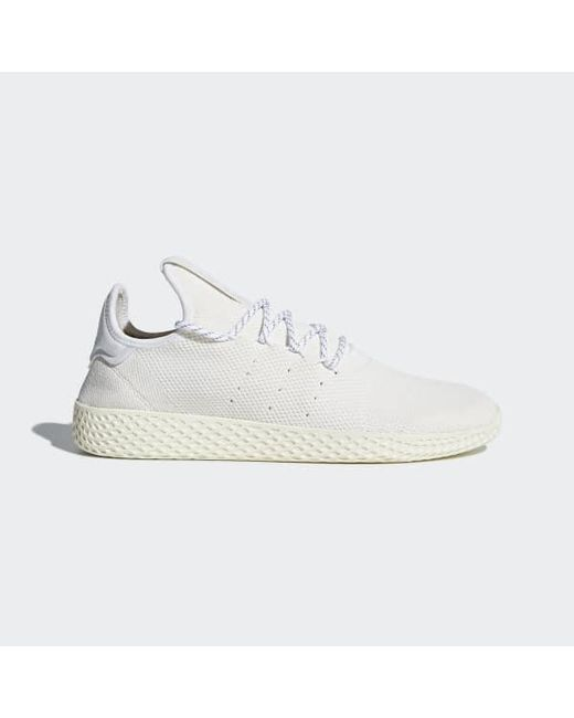 Adidas - White Pharrell Williams Hu Holi Tennis Hu Bc Shoes for Men - Lyst  ... ad52ff637e