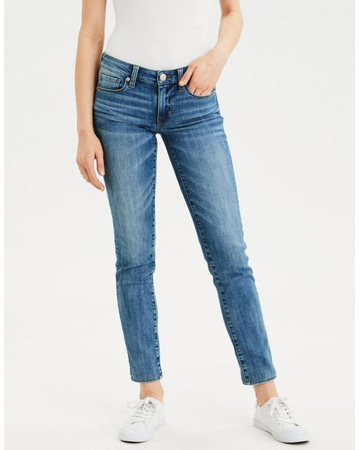 American Eagle - Blue Skinny Jean for Men - Lyst