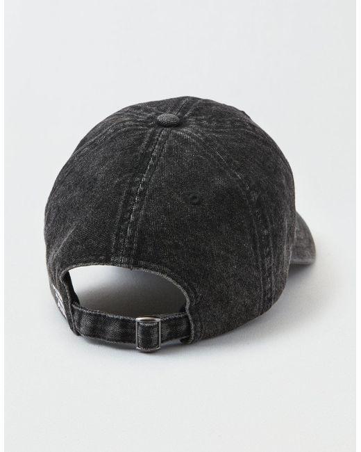 ... American Eagle - Black Ae Logo Baseball Hat for Men - Lyst 5a405b2b5ec2